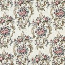 "54"""" Wide F641 Burgundy, Green And Blue, Floral Tapestry Upholstery Fabric By The Yard"