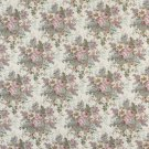 "54"""" Wide B400 Pink, Blue And Green, Floral Tapestry Upholstery Fabric By The Yard"