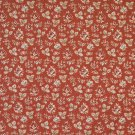 "54"""" Wide F908 Red And Green, Floral Tapestry Upholstery Fabric By The Yard"
