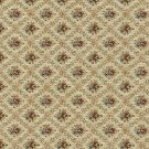 """54"""""""" Wide F917 Burgundy, Gold And Green, Floral Diamond Tapestry Upholstery Fabric By The Yard"""