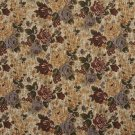 """54"""""""" Wide F922 Red, Green And Blue, Floral Bouquet Tapestry Upholstery Fabric By The Yard"""