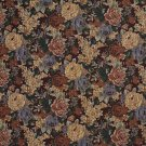 """54"""""""" Wide F924 Red And Green, Floral Tapestry Upholstery Fabric By The Yard"""