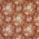 """54"""""""" Wide F930 Red, Blue And Green, Floral Tapestry Upholstery Fabric By The Yard"""