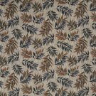 "54"""" Wide F932 Green, Red And Brown, Floral Leaves Tapestry Upholstery Fabric By The Yard"