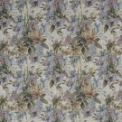 "54"""" Wide J120 Blue, Purple And Green, Floral Tapestry Upholstery Fabric By The Yard"