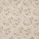 "54"""" Wide F809 Green And Gold, Pastel Floral Roses Jacquard Woven Upholstery Fabric By The Yard"