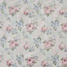 "54"""" Wide F810 Blue, Pink And Green, Pastel Floral Roses Jacquard Woven Upholstery Fabric By The Yar"