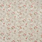 "54"""" Wide F812 Red Gold Ivory Pastel Butterflies Flowers Jacquard Woven Upholstery Fabric By The Yar"