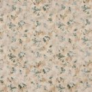 F813 Green Gold White Pastel Butterflies Flowers Jacquard Woven Upholstery Fabric By The Yard