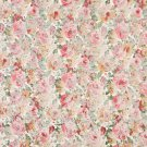 "54"""" Wide F829 Red, Gold And Green, Floral Garden Jacquard Woven Upholstery Fabric By The Yard"