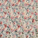 "54"""" Wide F835 Red Yellow Green Blue Floral Garden Jacquard Woven Upholstery Fabric By The Yard"