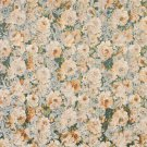 """54"""""""" Wide F836 Gold, Blue And Green, Floral Garden Jacquard Woven Upholstery Fabric By The Yard"""