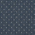 """54"""""""" Wide C610 Blue And Beige, Dotted Country Style Upholstery Fabric By The Yard"""