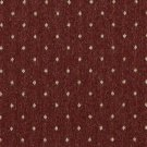 """54"""""""" Wide C616 Rustic Red And Beige, Dotted Country Style Upholstery Fabric By The Yard"""