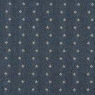 "54"""" Wide C630 Blue And Beige, Mini Flowers Country Style Upholstery Fabric By The Yard"