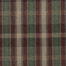 "54"""" Wide C642 Burgundy Blue Green Beige Large Plaid Country Style Upholstery Fabric By The Yard"
