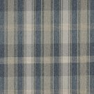 """54"""""""" Wide C643 Blue, Green And Ivory, Large Plaid Country Style Upholstery Fabric By The Yard"""