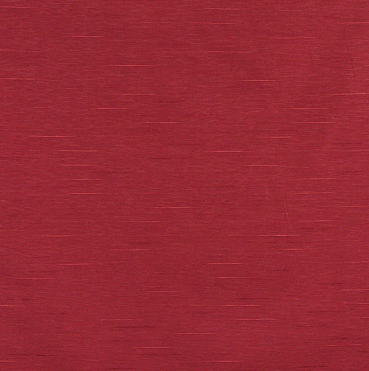 C157 Tomato Red Textured Solid Jacquard Linen Look