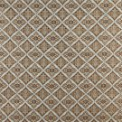 K0012A Light Blue Gold Brown Ivory Embroidered Diamond Brocade Upholstery Fabric By The Yard