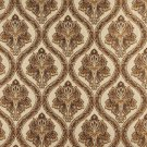 """54"""""""" Wide K0016E Beige Brown Gold Ivory Embroidered Traditional Brocade Upholstery Fabric By The Yar"""