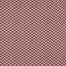 K0004A Red Off White Herringbone Slanted Check Designer Quality Upholstery Fabric By The Yard