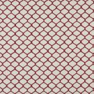 "54"""" Wide K0005A Red and Off White, Modern, Geometric, Designer Quality Upholstery Fabric By The Yar"