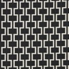 "54"""" Wide K0006G Midnight Off White Modern Geometric Designer Quality Upholstery Fabric By The Yard"