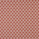 "54"""" Wide K0008C Persimmon Off White Modern Geometric Designer Quality Upholstery Fabric By The Yard"