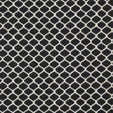 """54"""""""" Wide K0008G Midnight Off White Modern Geometric Designer Quality Upholstery Fabric By The Yard"""