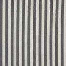 "54"""" Wide K0009B Cadet Blue and Off White, Striped, Designer Quality Upholstery Fabric By The Yard"
