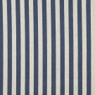 "54"""" Wide K0009E Blue and Off White, Striped, Designer Quality Upholstery Fabric By The Yard"