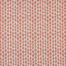 """54"""""""" Wide K0010C Persimmon Off White Circle Striped Designer Quality Upholstery Fabric By The Yard"""