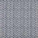 "54"""" Wide K0010E Blue and Off White, Circle Striped, Designer Quality Upholstery Fabric By The Yard"