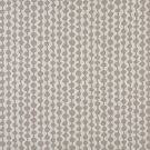 "54"""" Wide K0010F Grey and Off White, Circle Striped, Designer Quality Upholstery Fabric By The Yard"