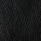 """54"""""""" Wide G206 Black, Smooth Emu Upholstery Faux Leather By The Yard"""