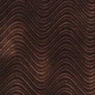 C849 Brown Classic Velvet Swirl Automotive Residential Commercial Upholstery Velvet By The Yard