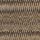 """54"""""""" Wide C481 Blue, Beige and Gold, Woven Flame Stitch Upholstery Fabric By The Yard"""
