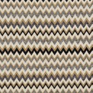"54"""" Wide C243 Gold, Blue, Midnight and Off White, Woven Chevron Upholstery Fabric By The Yard"