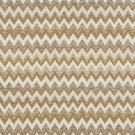 "54"""" Wide C244 Gold, Beige and Off White, Woven Chevron Upholstery Fabric By The Yard"