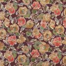 "54"""" Wide K0026C Purple Pink Blue Green Flower Patterned Contemporary Upholstery Fabric By The Yard"