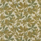 """54"""""""" Wide K0030A Green, Abstract Leaves Contemporary Upholstery Fabric By The Yard"""