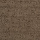 "54"""" Wide Light Brown, Floral Microfiber Upholstery Fabric By The Yard"