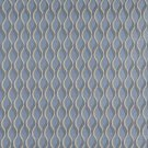 "54"""" C557 Blue and Gold, Wavy Striped, Durable Upholstery Fabric By The Yard"