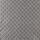 G356 Silver, Shiny Metallic Diamonds Upholstery Faux Leather By The Yard