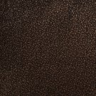 G369 Brown, Shiny Speckled Upholstery Faux Leather By The Yard