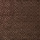 G374 Bronze, Metallic Overlapping Ovals and Circles Upholstery Faux Leather By The Yard
