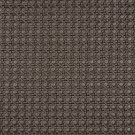 G672 Brown, Metallic Cross Hatch Upholstery Faux Leather By The Yard