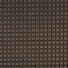G682 Brown, Metallic Plush Squares Upholstery Faux Leather By The Yard