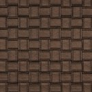 G697 Bronze, Metallic Basket Woven Look Upholstery Faux Leather By The Yard