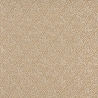 A126 Beige And Tan Two Toned Fan Upholstery Fabric By The Yard | Width: 54""""